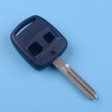 CITALL черный 2 кнопки Замена дистанционного ключа оболочки чехол Fob подходит для Subaru Forester Legacy Impreza Outback 2000 2001 2002