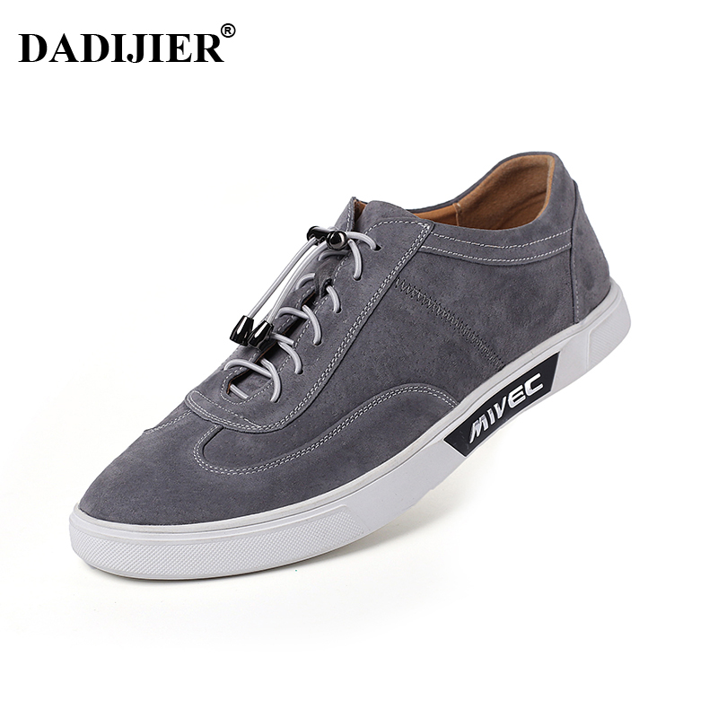 DADIJIER New Spring Summer Men Casual Shoes Breathable Top quality Suede Leather shoes Fashion Leisure brand flat Shoes Men ST83 new 2015 spring brand camel fashion leisure men low flat wear resisting high quality leather high end shoes with box