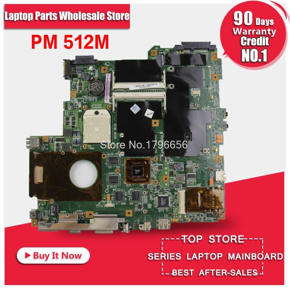 цена F3KA Motherboard PM 512M For ASUS F3K F3KA F3KE Z53K F3KM laptop Motherboard F3KA Mainboard F3KA Motherboard test 100% OK