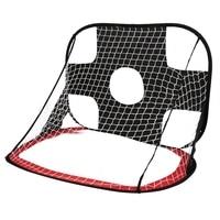 2 in 1 Soccer Goal Portable Soccer Net Kids Children's Football Soccer Training Target Durable Polyester Mesh Frame