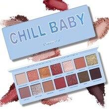 CmaaDu 14 Color Beauty Glazed Waterproof Eye Shadow Palette Powder Makeup Matte Eyeshadow Shadows Lidschatten