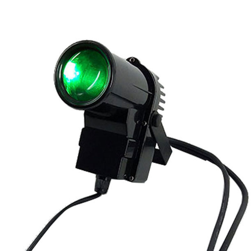 The Lastest 10W Spotlight LED RGBW 4in1 Led Pin Spot Beam Lights For Mirror Ball For
