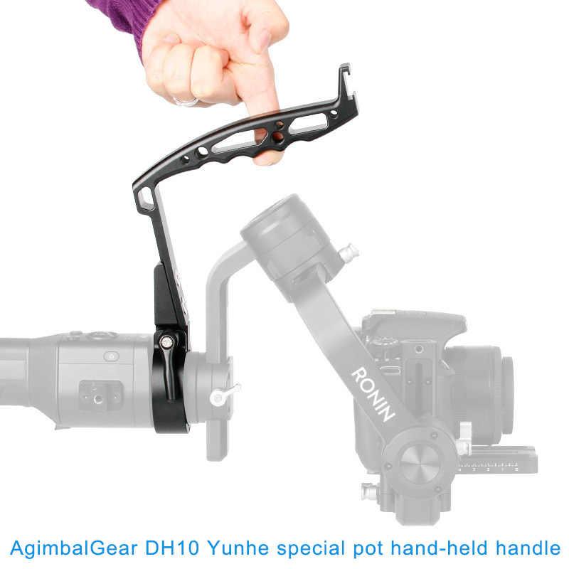 הפוך חמים ידית קלע גריפ צוואר טבעת הר הארכת זרוע מחזיק עבור DJI ללא מעצורים S Gimbal BUS66