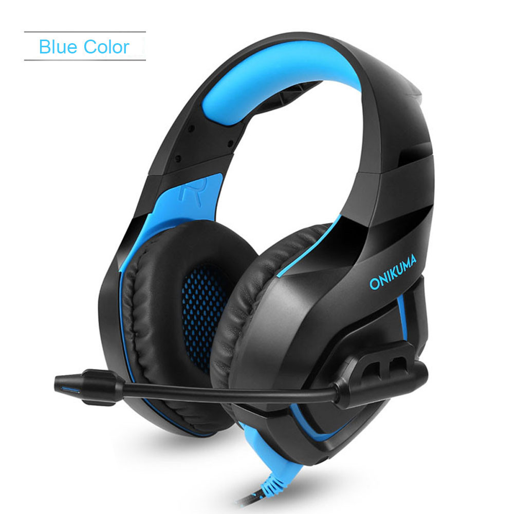 ONIKUMA K1 Casque  PS4 Headset with Microphone Stereo Gaming Headphones for Cell Phone New Xbox One Laptop PC (5)