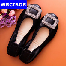 Women shoes flats Women casual moccasins loafers 100% Genuine leather Slip On, driving walking ballet Flats, free shipping