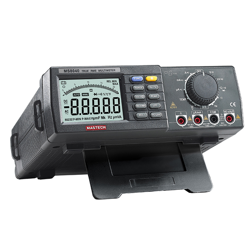 MS8040 Digital Multimeter High accuracy True RMS DMM Bench Top Multimeters 22000 Coun hp 37k scope multimeter with high accuracy