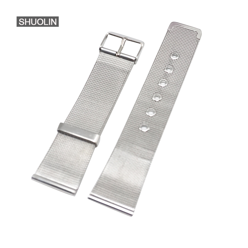 Watchbands 22mm Metal retractable watch strap 12mm 14mm 18mm 20MM  Watchband Watch Accessories correa de reloj 20mm pulseira