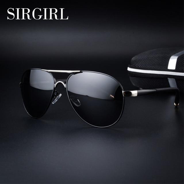 2017 New Luxury Brand Fashion Polarized Police Sunglasses Men Classic Retro  Pilot Female Sun Glasses Male Polaroid Driving Women 857e117169