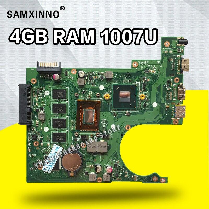 X200CA Motherboard REV:2.1 4GB 1007U For ASUS X200C X200CA laptop Motherboard X200CA Mainboard X200CA Motherboard test 100% ok for asus x200ca laptop motherboard with 2117u ram 4gb rev2 1 main board 60nb02x0 mb4020 100% working