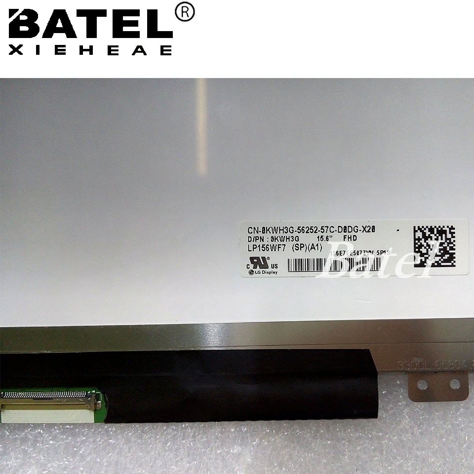New LP156WF7 SP A1 for Dell with Touch Screen 1920x1080 FHD Glare 40Pins 15.6 LP156WF7 (SP) (A1) KWH3G 0KWH3G LED Display Matrix велосипед pegasus piazza gent 7 sp 28 2016