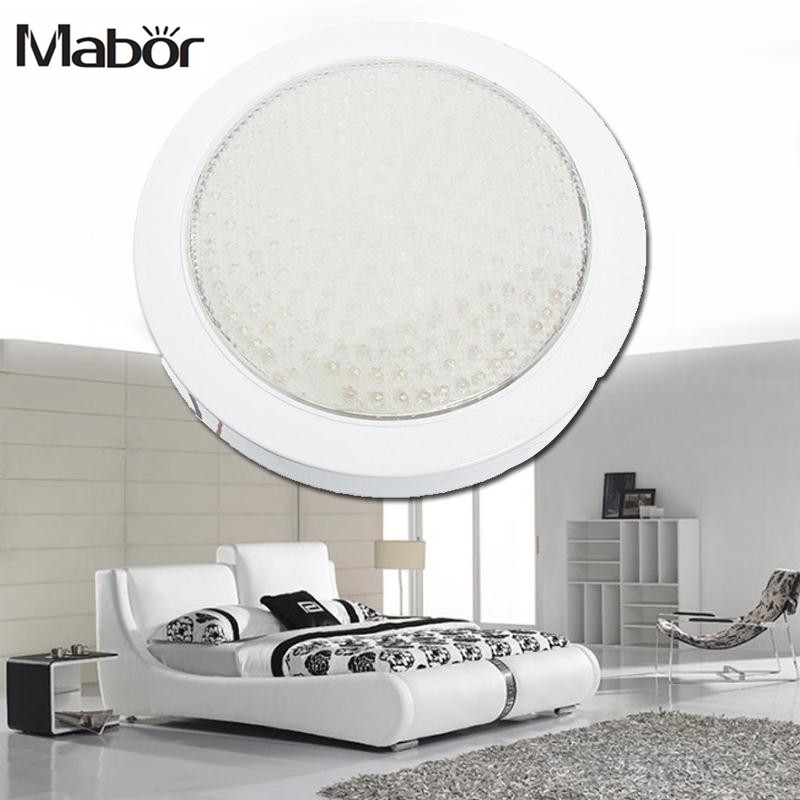 Mabor 220V 12W 200LED Round  light Chandelier Living Room Kitchen LED Decoracion