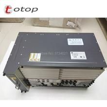 HW MA5683T GPON OLT 10GE liaison montante MA5683T châssis + 2 * SCUN + 2 * X2CS + 2 * PRTE GPON à bord avec 4 Modules SFP pièces X2CS