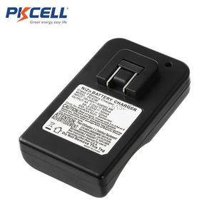 Image 2 - PKCELL 1.6 فولت نيزن شاحن بطارية ل AA/AAA 8186 LED مؤشر شحن سريع AA/AAA بطاريات NI ZN شاحن الاتحاد الأوروبي/الولايات المتحدة التوصيل