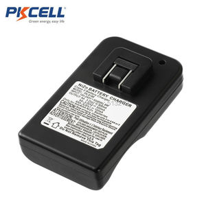Image 2 - PKCELL 1.6V NIZN pil şarj cihazı AA/AAA 8186 LED göstergesi hızlı şarj AA/AAA piller NI ZN şarj cihazı ab/abd Plug