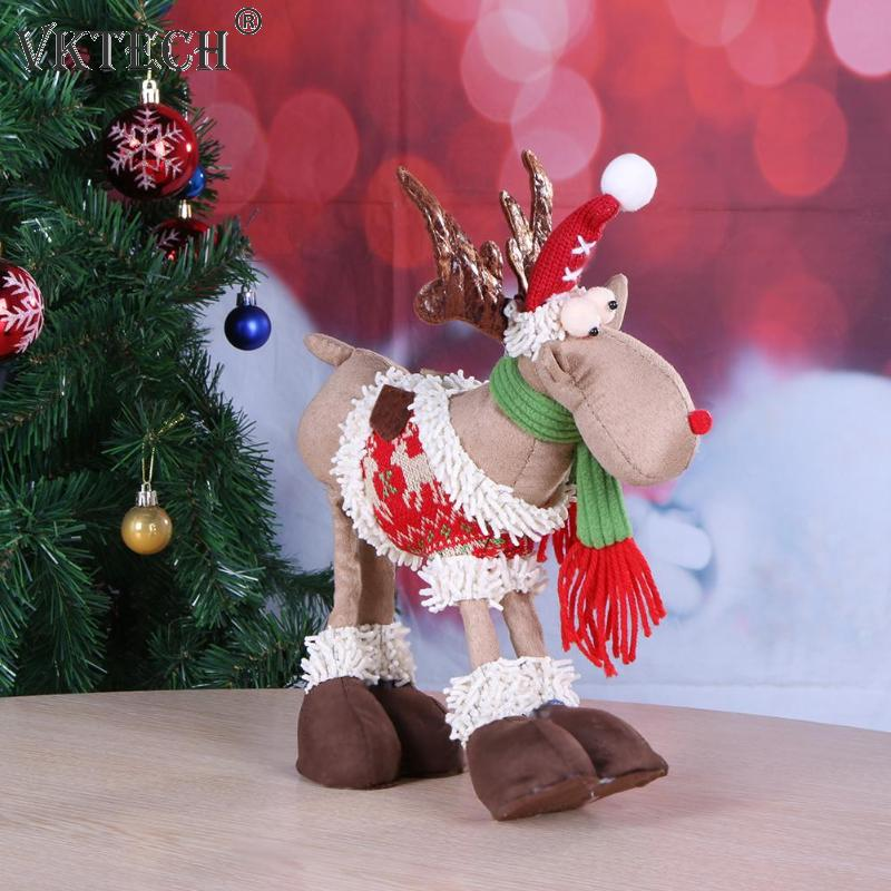 Santa Claus Decorations Uk: Santa Claus Snowman Reindeer Doll Christmas Ornaments