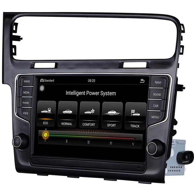 Voiture radio navigation voiture multimédia vidéo android voiture dvd pour VW Golf 7 2014-2018 9