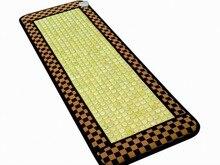 Cheap Price Jade Stone Tourmaline Heating Mattress, Therapy Tourmaline Jade Mattress Sofa Cushion 50*150CM Free Shipping