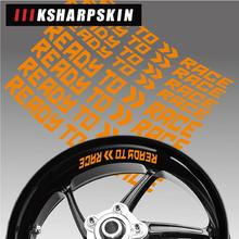 Decorative-Sticker Decals Motorcycle Styling Rim KTM Wheel-Tire-Logo Inner-Side Suitable-For