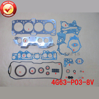 4G63 8V Engine Full Gasket Set kit for Mitsubishi Delica/Nimbus/starion/Montero/Galant/L200 1997cc 2.0L 50086000