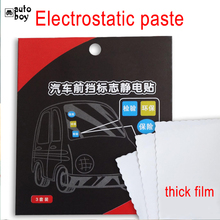Car Window Static Sticker Annual Inspection Mark Sticker Car Accessories Car Decoration Sticker For Tesla Model 3 For Ford Focus