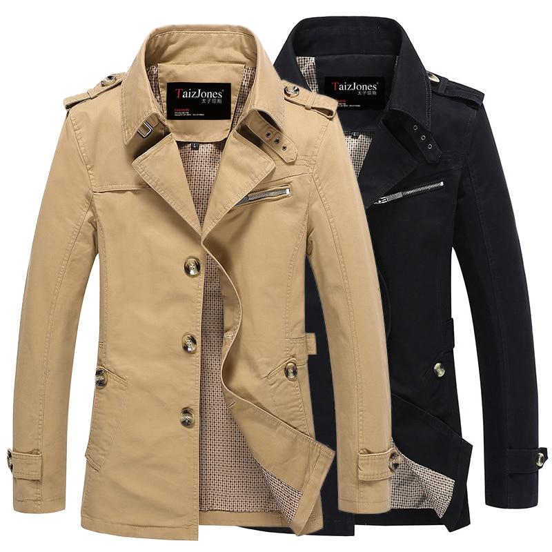 Mens Lapel Collar Single-breasted Trench Fleece Liner Warm Winter Spring Coats Outwear Belt Plus Size