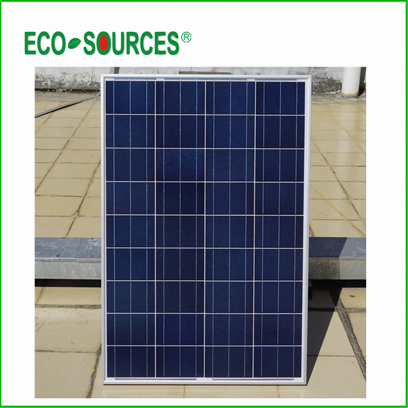 ECO-WORTHY AU EU USA Stock 3pcs 100W Polycrystalline Solar Panel for 12v Battery for Off Grid Solar System for home dc house usa uk stock 300w off grid solar system kits new 100w solar module 12v home 20a controller 1000w inverter