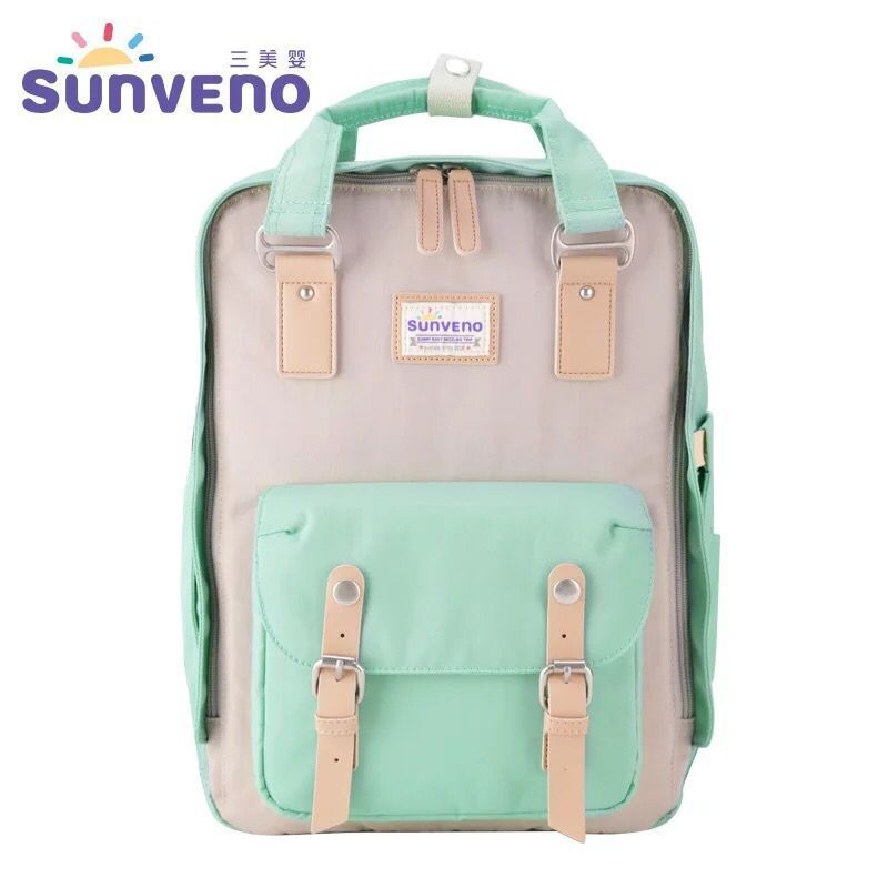 buy 2017 sunveno fashion mummy maternity diaper bag mom backpack brand large. Black Bedroom Furniture Sets. Home Design Ideas