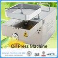 Hogar máquina de prensa de aceite automática Tuercas semillas aceite prensado Todo el acero inoxidable de alta extracción de aceite