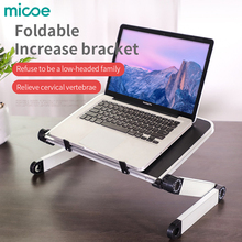 MICOE portable foldable adjustable aluminum alloy laptop desk adjustable lift
