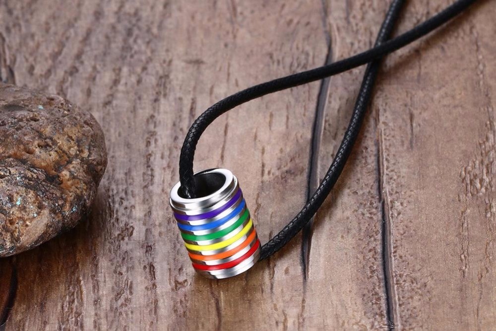 ... Rainbow stainless steel Necklace ring 13. HTB1pXknPpXXXXbwXpXXq6xXFXXXK f0fa591d10