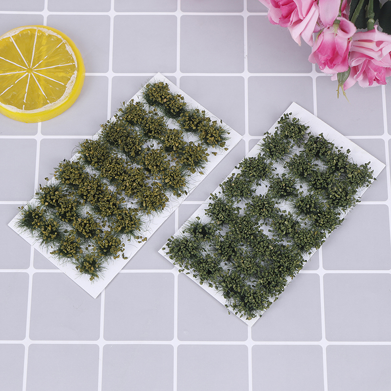 DIY Handmade Building Materials Simulation Model Scene Simulated Bush Scale Model Grass Tuft Grass Needle Grass Model