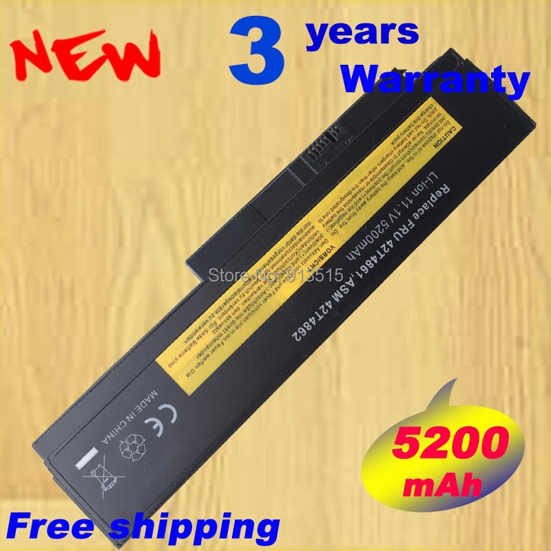 6Cell Quality New Laptop Battery for X220 X220I X220S 42T4866 0A36283 42T4872 42T4942 original 9cell for lenovo ibm thinkpad x220 x220i x220s 0a36282 0a36283 42t4862 42y4874 42y4868 42t4941 42t4940 42t4942 42y4864