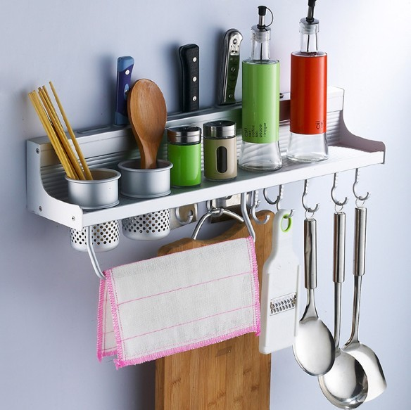 Kitchen racks kitchen accessory 50 cm Two CUPs dinnerware shelf holders and Racks NEW DESIGN