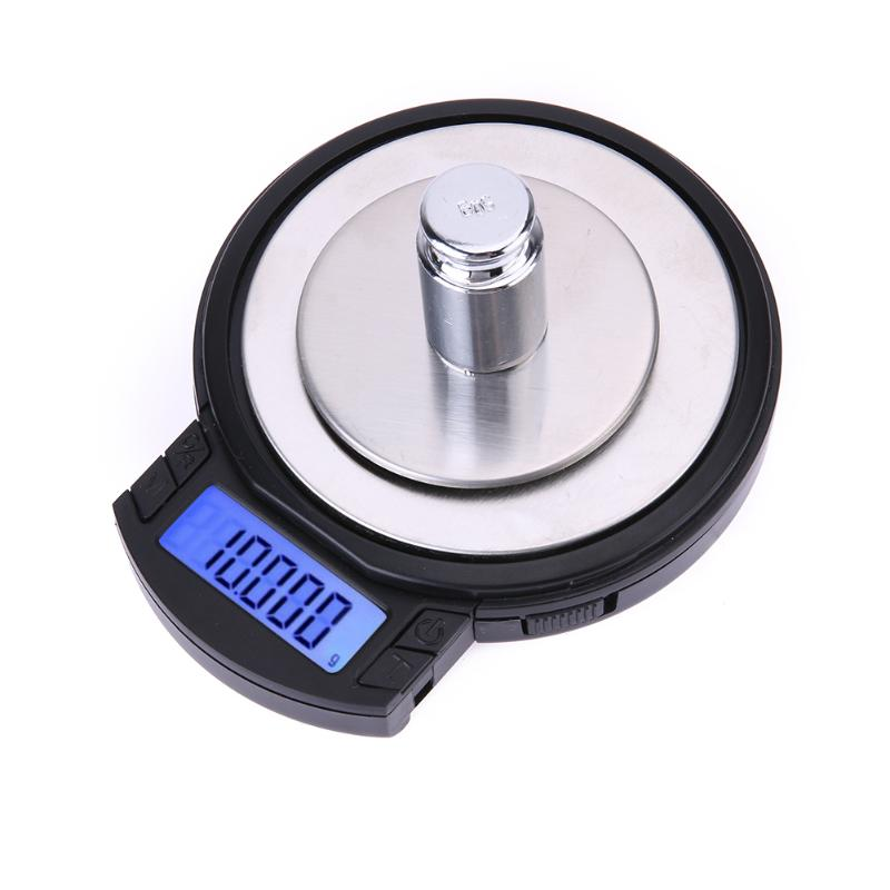 100g /0.001g High Precision Electronic Jewelry Scales LCD Digital Portable Electronic Digital Scale Kitchen Gram Scale 1 5 lcd digital electronic scale 2 x aaa