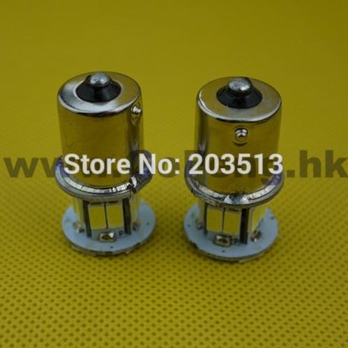 100pcs/lot in stock car led lighting 18 leds 1156 18 leds SMD 5630 BA15S nice color bulb 2014 new arrival Free shipping