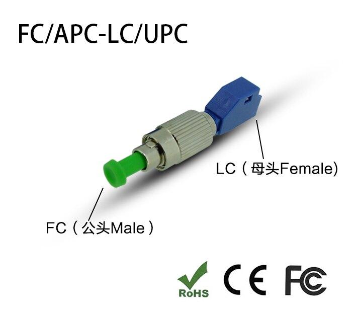 weiblich Um Fc männlich Stecker Einen Einzigartigen Nationalen Stil Haben Fc/apc-lc/upc Hybrid Adapter Singlemode Sm 9/125 Lwl-adapter 2,5mm Bis 1,25mm Lc