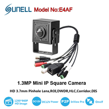 micro 3.7mm lens mini ip camera 960P home security video cctv surveillance small hd onvif video p2p cam with audio alarm sd slot