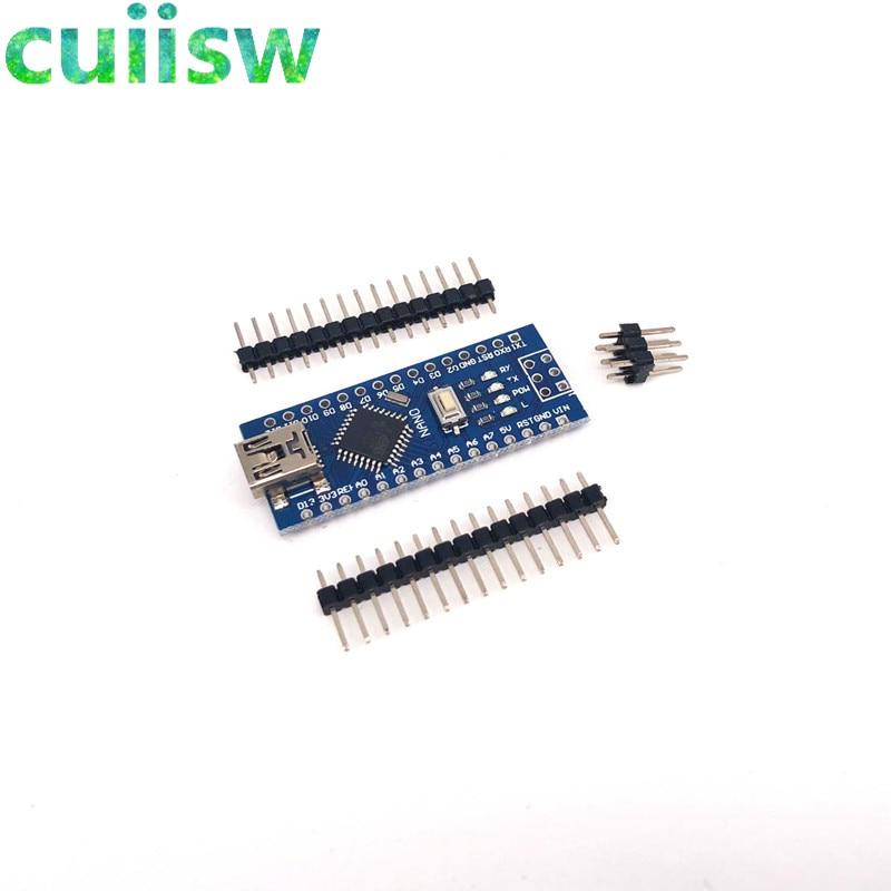 Arduino Nano V3.0 Compatible  DIN rail screw terminal  CH340 Chip UK stock