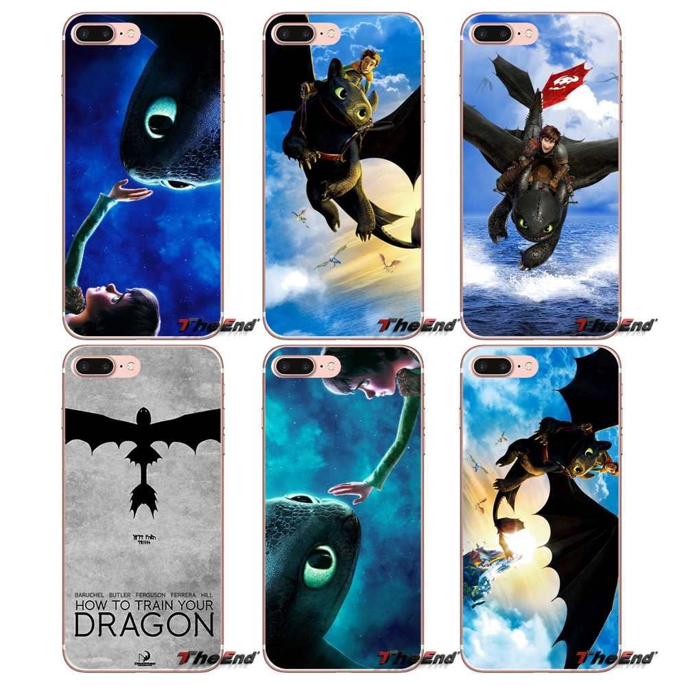 How to Train Your Dragon desdentado Capas Para iPhone X 4 4S 5 5S 5C SE 6 7 6S 8 Plus Samsung Galaxy J1 J3 J5 J7 A3 A5 2016 2017