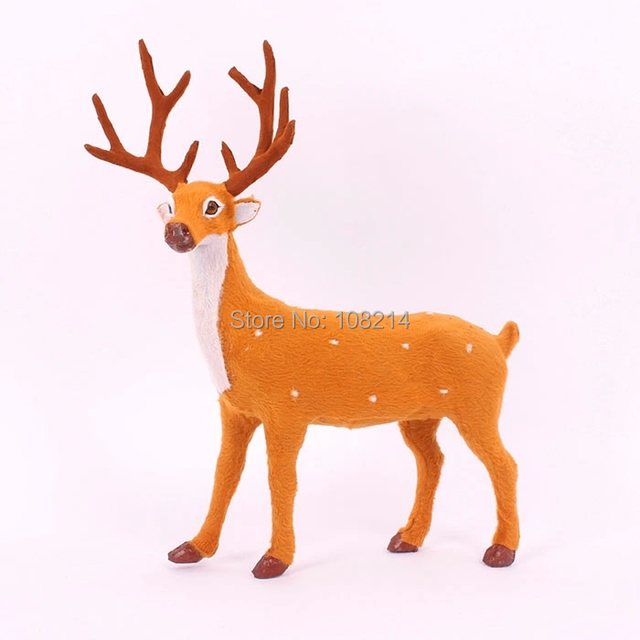 Decoration Navidad Deer,Smooth Surface,Bright Color,Perfect Human ...