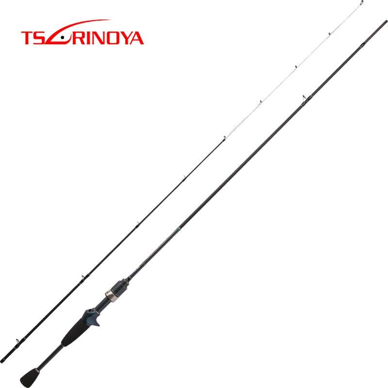 Tsurinoya dextérité 1.89 m 632ULC rapide 0.6-8g 2Sec Baitcasting canne à pêche carbone leurre coulée tiges FUJI accessoires Pesca Olta