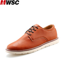 MWSC Brand New Leather Men Casual Shoes Luxury Men's Business Formal Flats Classic Gentle Casual British Shoes