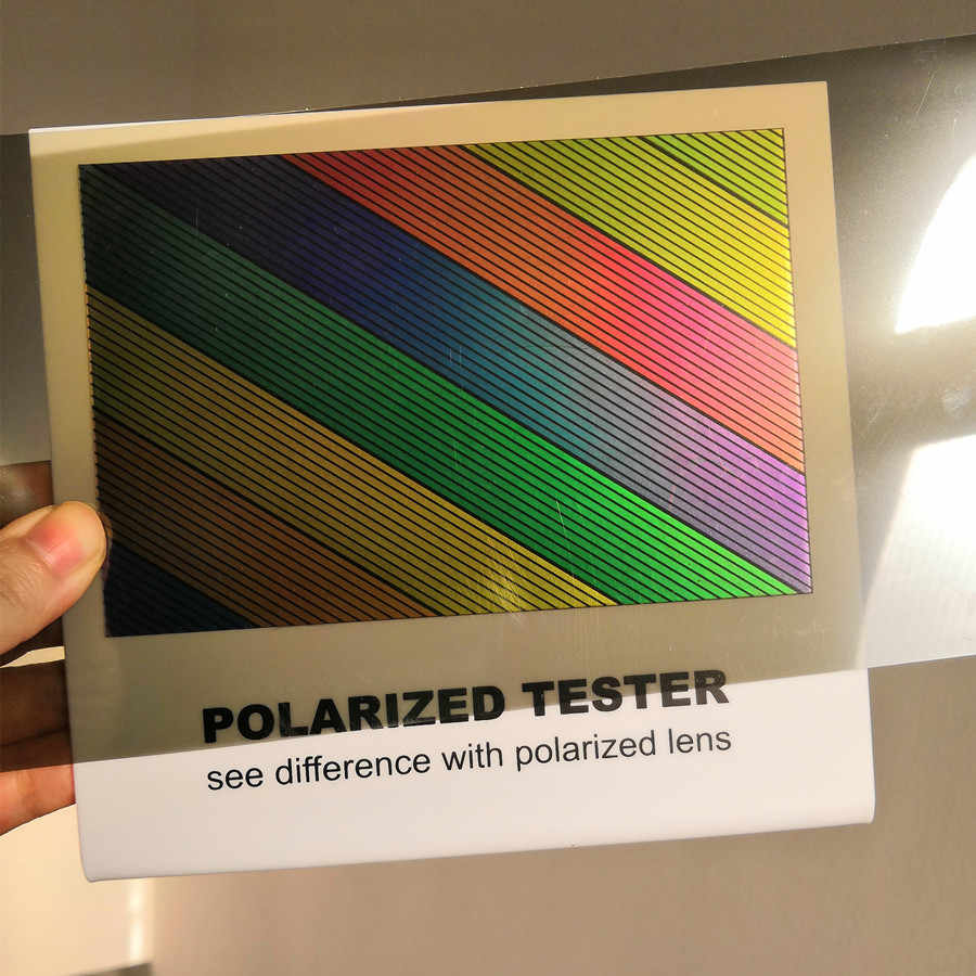bd2944258ebd Detail Feedback Questions about Polarized Lens Test Card for Testing  Polarizing sunglasses Polaroid Test Card eyewear sun Glasses accessories on  ...