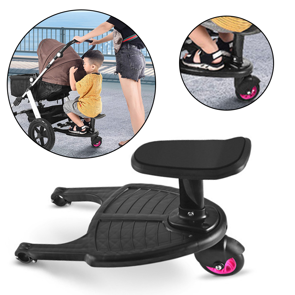 Children s Stroller Pedal Baby Stroller Accessories Kids Glider Board Twins Auxiliary Trailer Baby Standing Plate