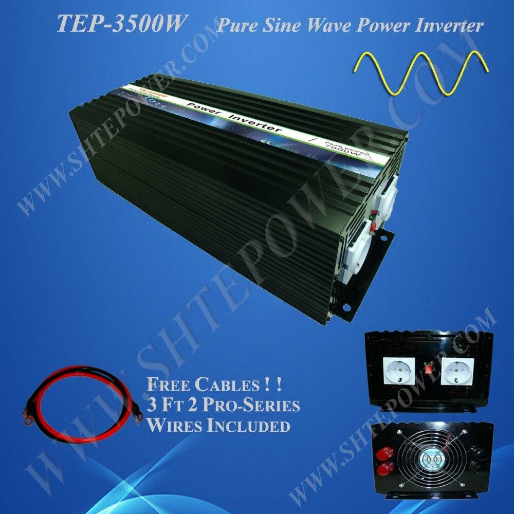 48v 220v 3500w inverters 48v dc to 110v/120v/220v/230v ac inverter