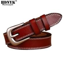 O mais baixo Preço Hot Design de Marcas famosas Cintos De Luxo Mulheres de Couro Da Vaca Real Cintos Tira Da Cintura Alloy Buckle Cintura Feminina