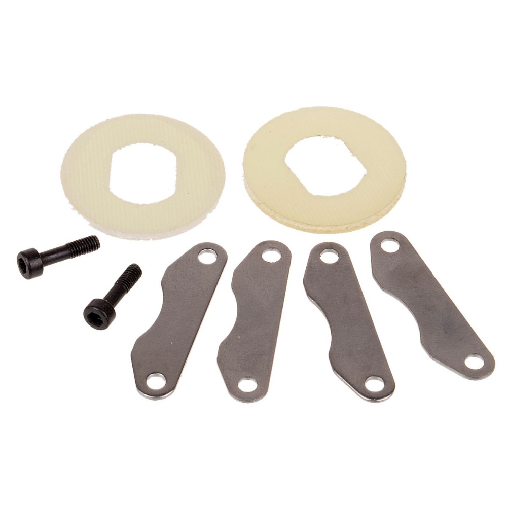 HSP 85752 Brake Discs+Pads 1:8 Scale Models Spare Parts For RC Model Cars HIMOTO 94885 94886 82910 ricambi x hsp 1 16 282072 alum body post hold himoto 1 16 scale models upgrade parts rc remote control car accessories
