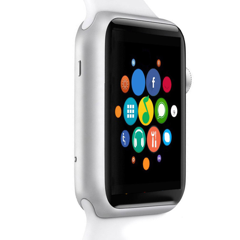 Wearable Devices Smart Watch Clock Sync Notifier Support Apple iphone and Android Smartwatch цена и фото
