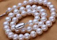 Eternal wedding Women Gift word 925 Sterling real natural big Superb Huge 11 12mm south sea PEARL NECKLACE choker bts