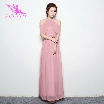 2018 Girl Sexy Bridesmaid Dress Wedding Guest Formal Dresses BN538